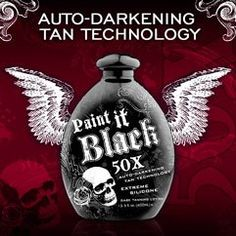Millenium Tanning New Paint It Black Auto-darkening Dark Tanning Lotion Beauty Care, Beauty Skin, Beauty Hacks, Beauty Tips, Beauty Products, Best Tanning Oil, Indoor Tanning Lotion, Cotton Blossom