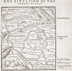 Image result for garden of eden map