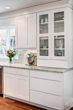 Contemporary Remodel - contemporary - kitchen cabinets - salt lake city - Crown Cabinets