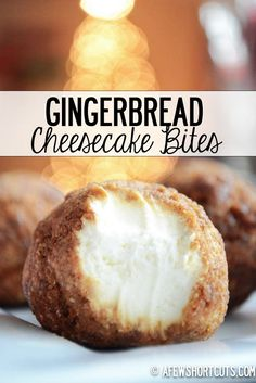 Gingerbread Cheesecake Bite – Christmas Party & Happy New Year Snack Food Recipe - DIY Craft (3)