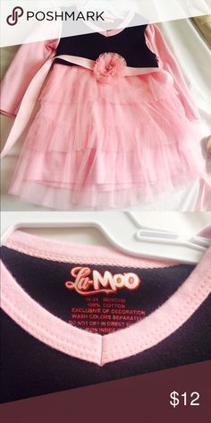 la- moo baby girl dress! excellent conditions! Dresses Casual