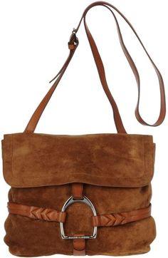 RALPH LAUREN COLLECTION Medium Leather Bag