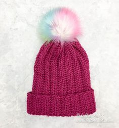 Free crochet patterns for modern and easy hats, slouchy hats, headbands and ear warmers. Many textured, one-skein crochet patterns. Slouch Hat Crochet Pattern, One Skein Crochet, Double Crochet, Single Crochet, Crochet Beanie, Free Crochet, Crochet Hats, Crochet Patterns For Beginners, Easy Crochet Patterns