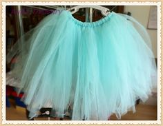 AuRa Treasury: DIY Projects - How to Make a Tutu Skirt / Dress. Idea for young women service project. Make the, for the nursery.