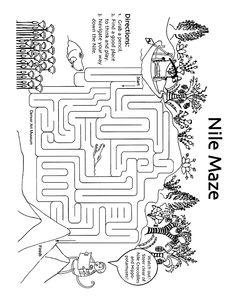 Egypt Theme - Nile maze