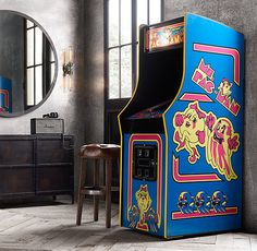 Ms. Pacman Arcade Machine