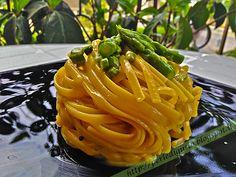 #Carbonara di #asparagi e cipollotto fresco profumata al #pepe monk