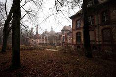 El sanatorio de Beelitz en Brandenburgo, Alemania: