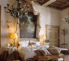 Wall decor above bed