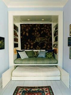 Daybed alcove