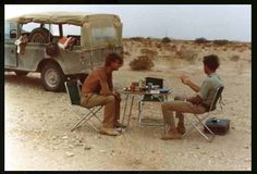 Camping 'Land Rover'-style!