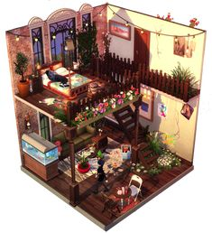 idk idc: Bild Sims 4 House Plans, Sims 4 House Building, Lotes The Sims 4, Sims Cc, Sims 4 House Design, Tiny House Design, Sims 4 Loft, Sims 4 Bedroom, Sims Free Play