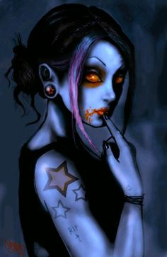 Gothic Pin Up Girls | gothic_zombie_girl_by_screamingdemons584_899