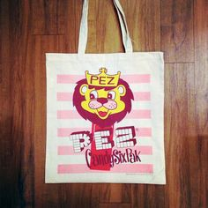 PEZ cotton tote 2