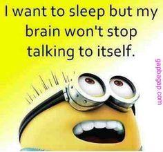 Funny Minion Joke About Sleep