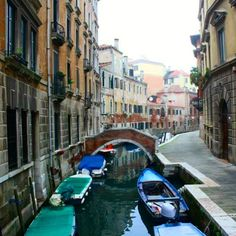 Venice canals #venice #interrail #italy #canal #boats #romantic #instagood by frenchgirltravel
