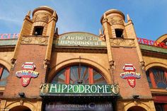 The historic Hippodrome at Great Yarmouth is Britain's only surviving total Circus Building, built in 1903 Floor Sink, Great Yarmouth, Seaside Resort, One Summer, Seven Wonders, Blackpool, I Want To Travel, Norfolk, Facade