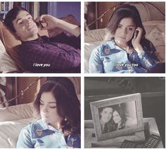Ezra Fitz & Aria Montgomery! Lies! You are -A!!! But I still love you anyways