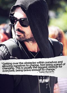 Tomo Milicevic quote