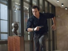Rupert Friend in action on Homeland...