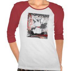 Stylish Bunny • Ladies 3/4 Sleeve Raglan (Fitted) T-shirts