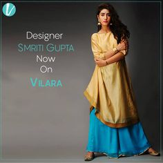 Here's an exclusive collection by designer Smriti Gupta of bright chanderi kurtas with banarasi tissue trims and hand embroidery combined handblock printed slips. Perfect for special occasions, these versatile silhouettes pair beautifully with chudidars, leggings and pants. Shop here : http://www.vilara.com/listing/online-store/smriti-gupta
