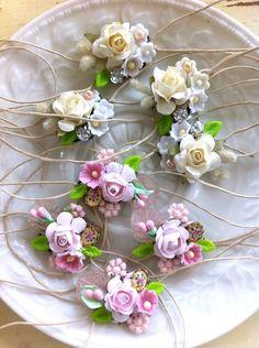 Reserved. Wedding corsage bracelets. Tiedupmemories