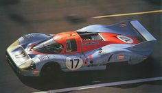 El preciós Porsche 917LH de Jo Siffert i Derek Bell. Malauradament no van acabar les 24 hores de Le Mans de 1971...