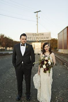This charming Bellingham wedding celebrated the official start of their forever. You'll love their story - read it on Northwed.