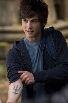 Logan Lerman as Percy Jackson!