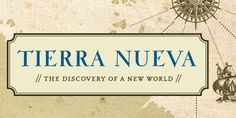 FDI Tierra Nueva - based on ancient cartographic map