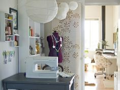 sewing ideas   Sewing Room Design Ideas   Home Interior Design ...