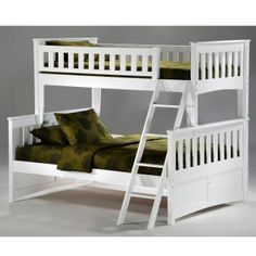 Ginger Twin over Full Bunk Bed - Storage Beds at Hayneedle