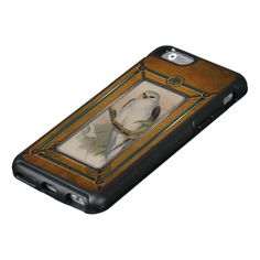 Retro Birds. OtterBox iPhone 6/6s Case★ #Steampunk #Samsung #iphone #Cases #S6 #S7 #ipad #samsunggalaxys #victorian #phonecases #accessories #gosstudio
