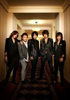Luna Sea - 25th Anniversary Band Photo