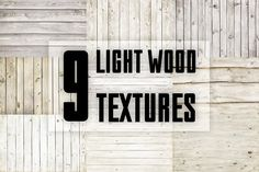 Light wood textures by RM_design on @creativemarket
