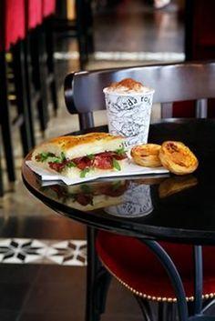 DaRosaのカフェいいなあDa Rosa Paris 44 rue du Four,Paris Local Bistro, Corner Cafe, Cozy Cafe, Hotel Restaurant, Sandwich Shops, Paris Travel, Coffee Shop, Sandwiches, Fresh