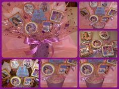 Bouquet galletas Violeta