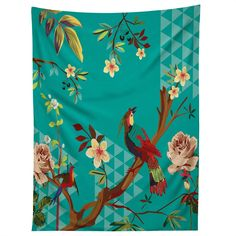 Juliana Curi Chinese Bird Tapestry | DENY Designs Home Accessories