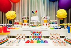festa arco iris - Google Search
