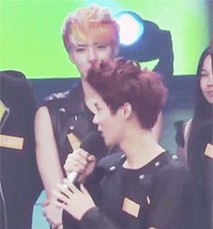 OH MY GOD! I love how Sehun bites his lip and raises his brows!  I'm all jelly for him, and I bet Luhan is too;););)