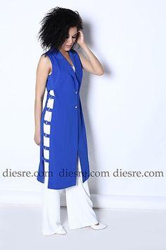 Yelek Modelleri - Diesre.com Abaya Fashion, Muslim Fashion, Chaleco Casual, African Fashion Dresses, Fashion Outfits, Circle Skirt Pattern, Merian, Mode Chic, Plus Size Fashion For Women