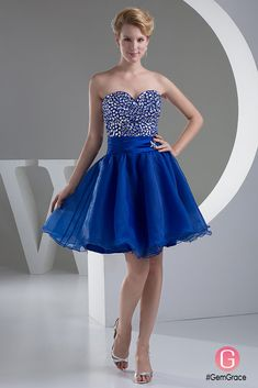 Only $129.9, Special Occasion Dresses A-line Sweetheart Short Tulle Prom Dress With Beading #OP4756 at #GemGrace. View more special Special Occasion Dresses,Prom Dresses,Homecoming Dresses now? GemGrace is a solution for those who want to buy delicate gowns with affordable prices, a solution for those who have unique ideas about their gowns. 2018 new arrivals, shop now to get $10 off!