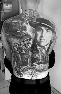 50 Al Capone Tattoos For Men