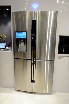 Wi-Fi refrigerator: Write a grocery list and have it on your smartphone wherever you go; listen to Pandora in the kitchen, see the weather and even news