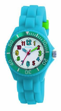 Tikkers Kids Fluorescent Blue Rubber/Silicone Strap Watch with Bright Funky Coloured NumbersTK0012 Tikkers, http://www.amazon.co.uk/dp/B005IW219I/ref=cm_sw_r_pi_dp_zNMBtb11G9VTH