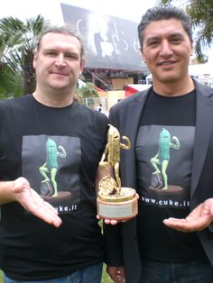 """""""Cuke of the Year"""" Verleihung 2012 in Cannes. Cannes, Film, Movies, Movie, Film Stock, Films, Cinema, Cinema, Movie Quotes"""