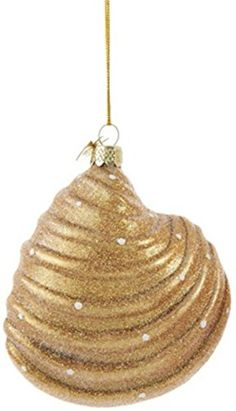 Seashell Christmas Ornaments - Beachfront Decor