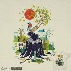 Nature will win by Petr Stepanov | Mens Tee Threadless