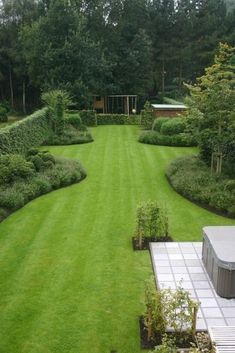 Garden Design Ideas On A Budget, Backyard Garden Design, Garden Landscape Design, Landscape Designs, Pool Garden, Garden Ideas, Patio Ideas, Backyard Ideas, Backyard Layout